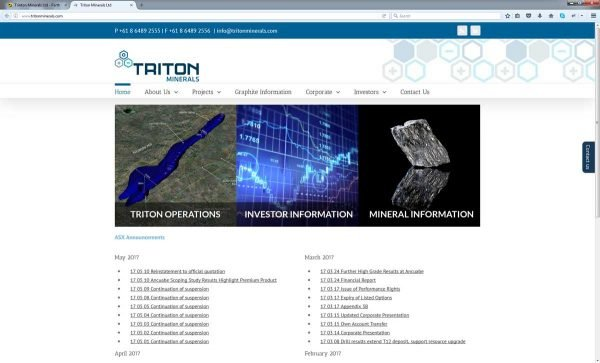 Investment Website Design Perth