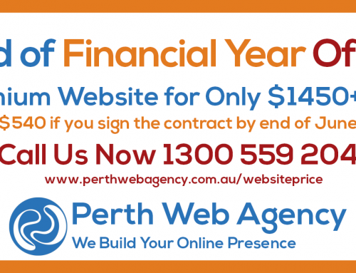 Website Design Perth – End of Financial Year Offer