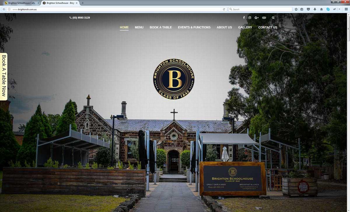 Restaurant Website Design Perth