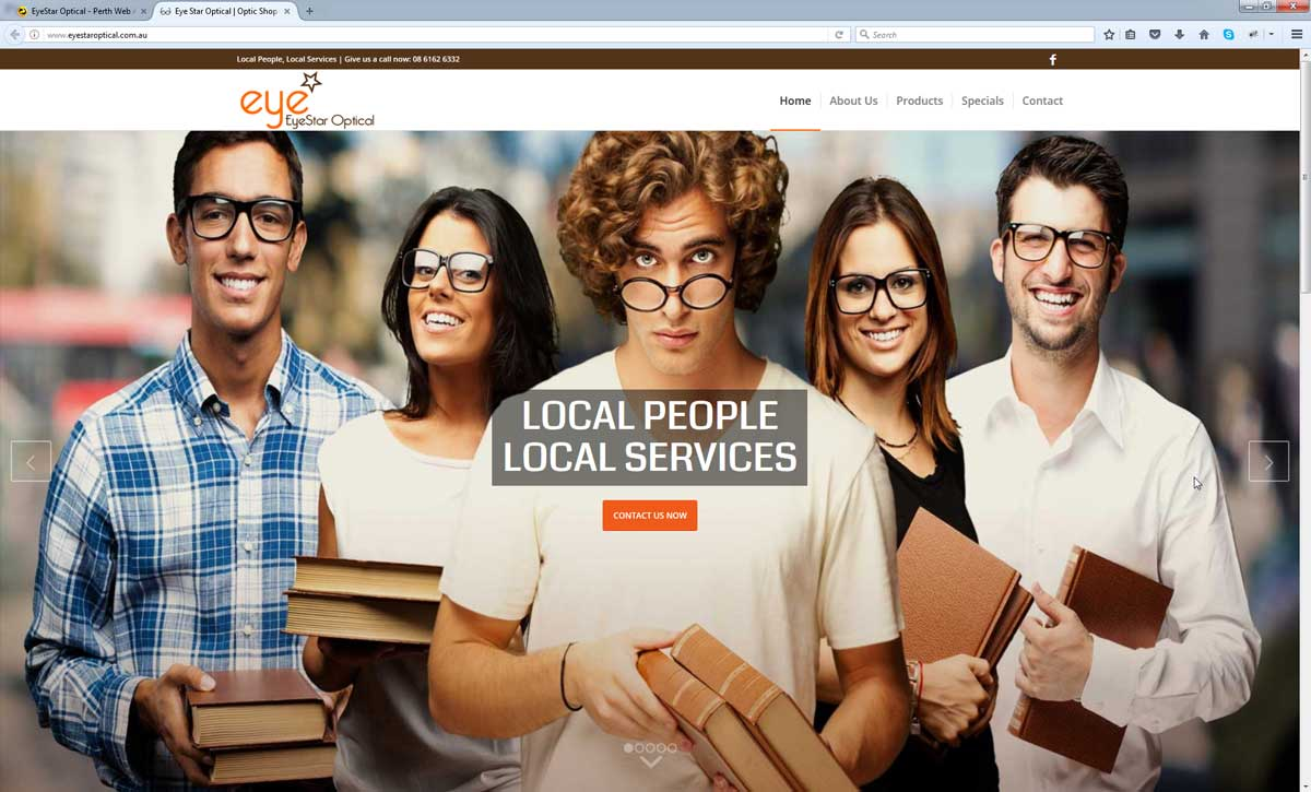 Optical Website Design Perth