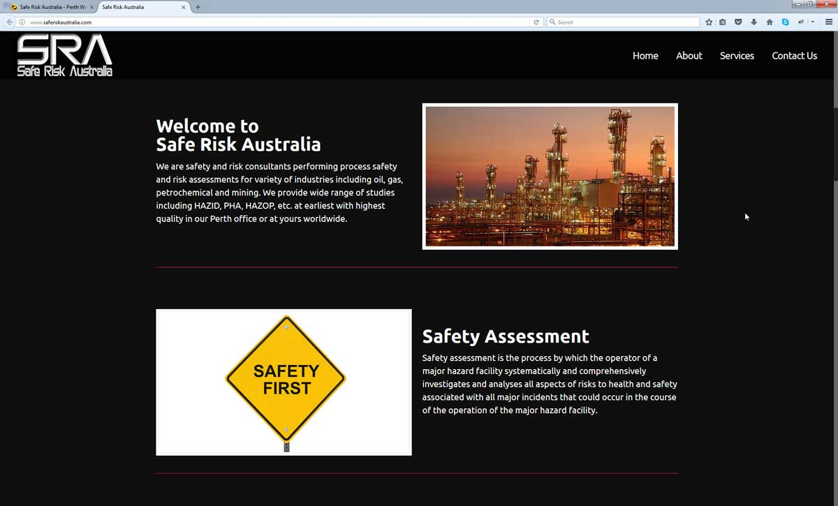 Engineering Company Website Design Perth