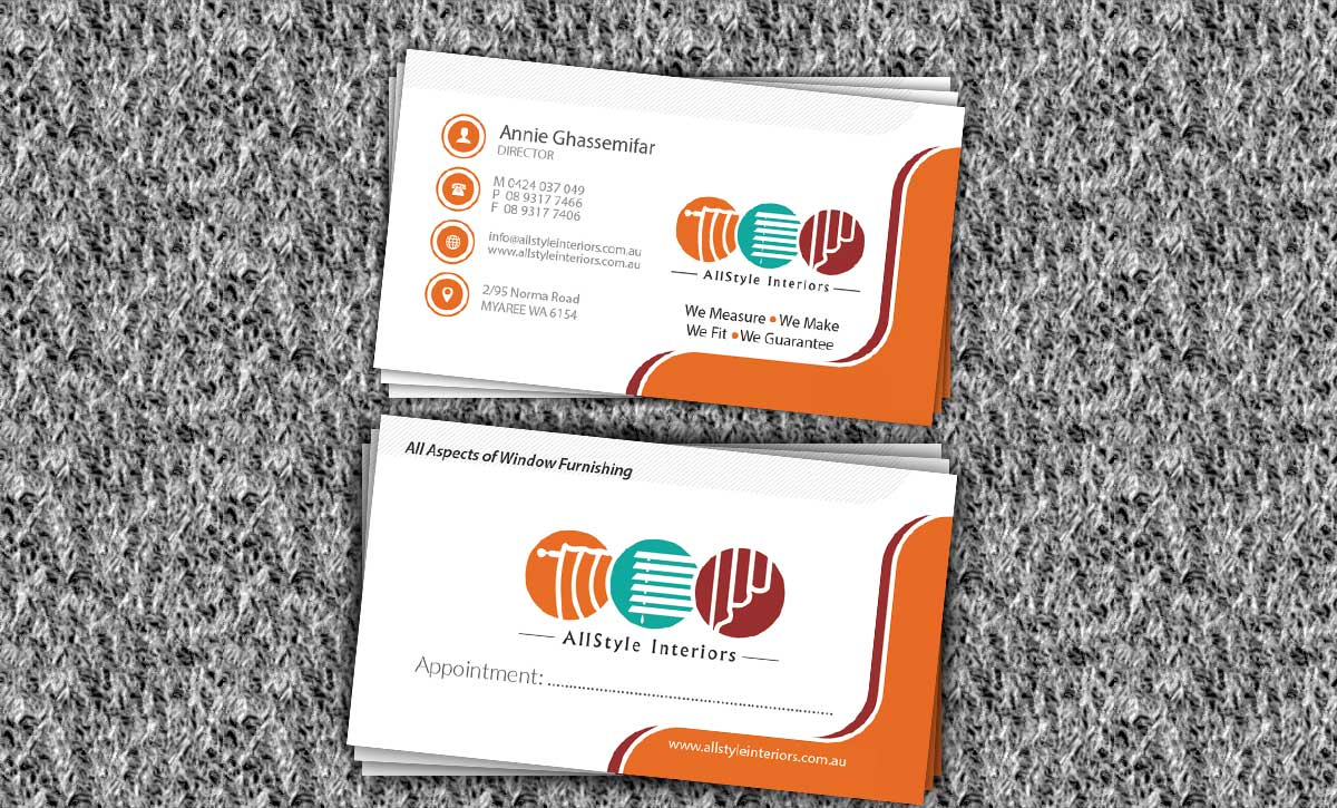 Business Card Design Perth