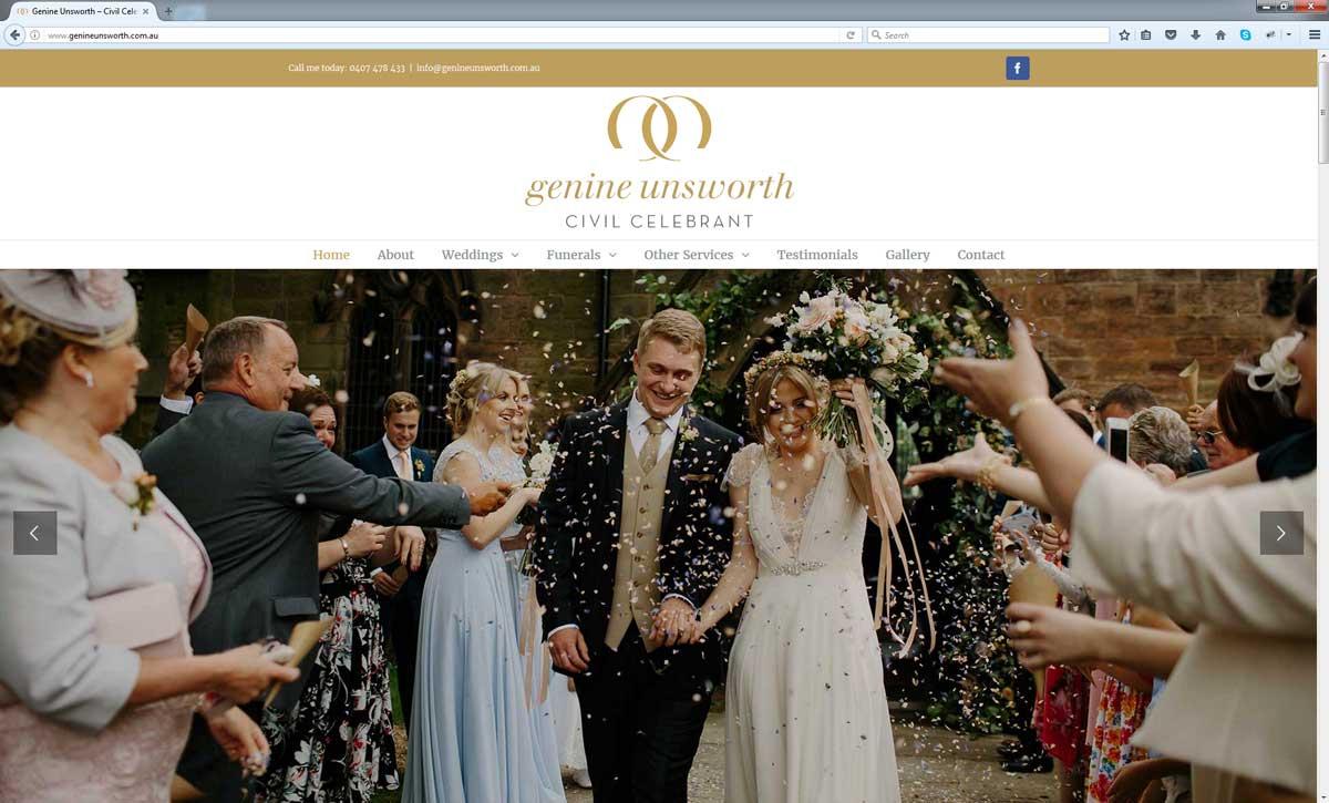 Wedding Website Design Perth