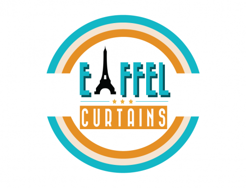 Logo Design for Eiffel Curtains and Blinds