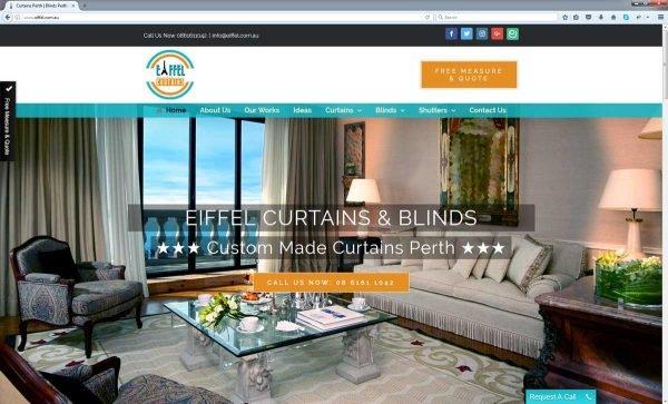 Curtains Website Perth