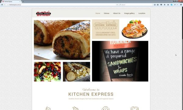 Cafe Website Design Perth
