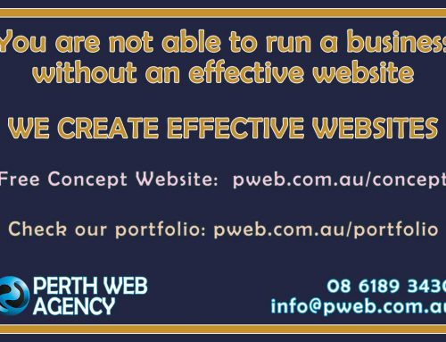 You are not able to run a business without an effective website