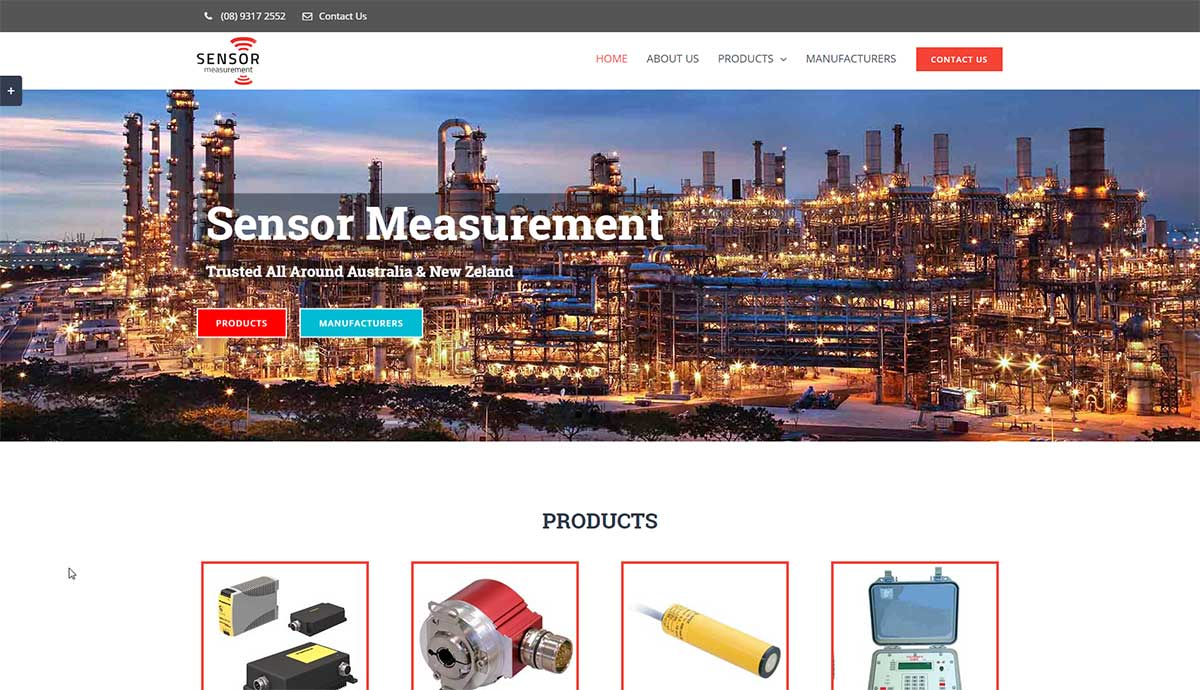 sensor measurement perth