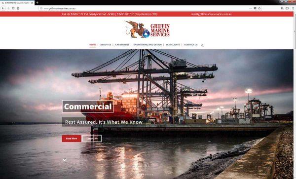 griffin-marine-services-website-design-perth