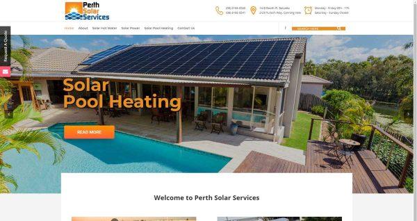 Solar Company Website