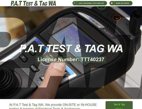 P.A.T Test & Tag WA